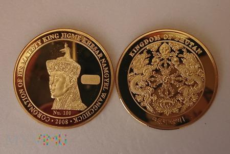 Medal pamiątkowy z Bhutan
