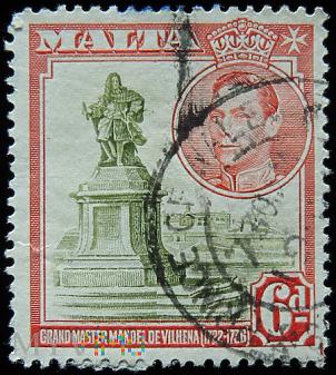 Malta 6d Jerzy VI