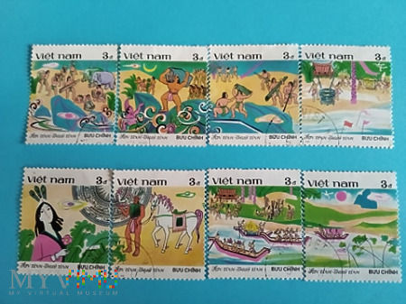 Seria znaczków wietnamskich
