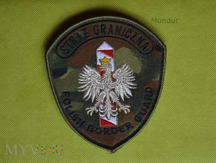 Emblemat SG do umundurowania polowego
