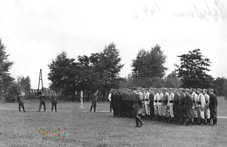Kompania (półkompania) Luftwaffe - musztra. zdj. 1