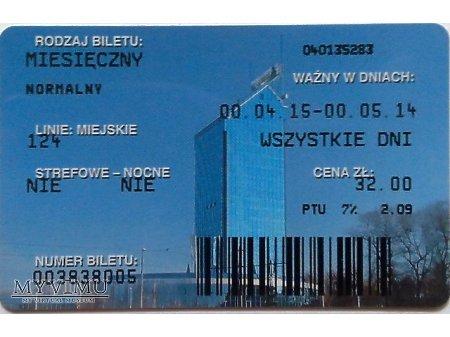Bilet MPK Kraków 25