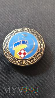 Pamiątkowa odznaka WPL Poznań - Krzesiny