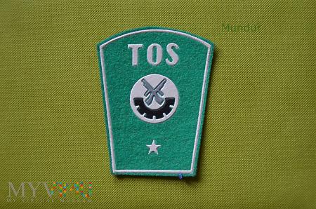 Dystynkcje TOS służba porządkowo-ochronna