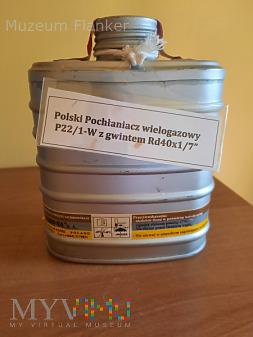 Pochłaniacz wielogazowy P22/1-W