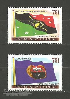 Flagi prowincji.