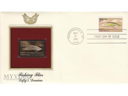 USA 1991 - FDC złote