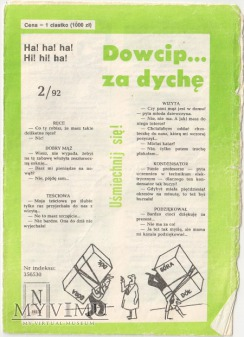 Dowcip...za dychę 2/92