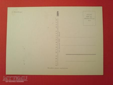 Duże zdjęcie 1963 Tęcznik Liszkarz karta Maximum Maksimum