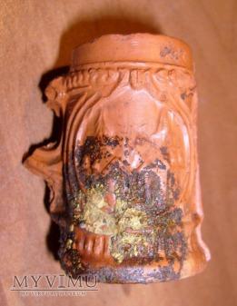 Mini kufelki z wypalanej gliny