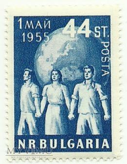 Święto 1 Maja - Bułgaria - 1955 r.