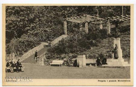 Krynica - Pomnik Mickiewicza - 1949
