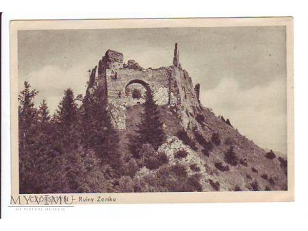 CZORSZTYN - Ruiny Zamku