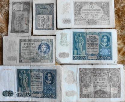 Banknoty okupacji niemieckiej 1940/41