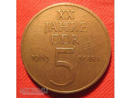 5 MARK - Niemiecka Republika Demokratyczna