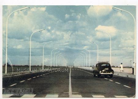 Duże zdjęcie W-wa - II Most - Gdański - 1961