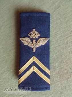 Szwecja - oznaka stopnia flygvapnet: kadet