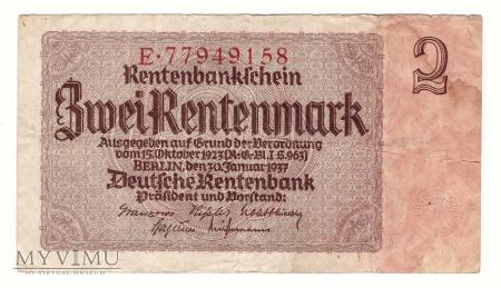 Niemcy, 2 marki 1937r.