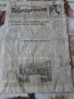 Gazeta niemiecka 1935r. Glogau