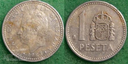 Hiszpania, 1 PESETA 1983