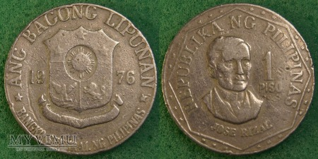 Filipiny, 1 PISO 1976