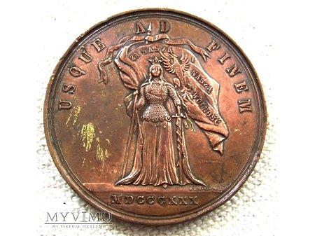 Medal - 50 rocznica Powstania Listopadowego.