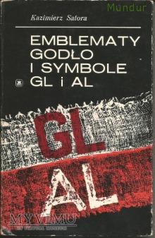 Emblematy godła i symbole GL i AL