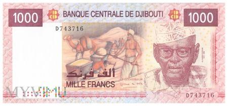 Dżibuti - 1 000 franków (2005)