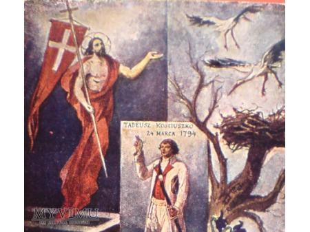 Kościuszko Bociany Walery Eljasz-Radzikowski