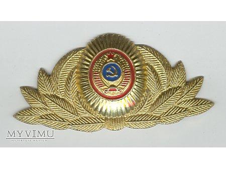 ZSRR Emblemat na czapkę