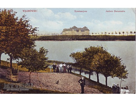 Wągrowiec jezioro Durowskie, Seminarium