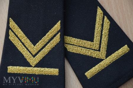 Pochewki z oznaką stopnia-st.bosman sztabowy SG