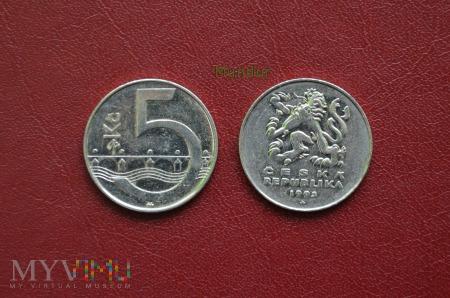 Moneta czeska: 5 korun českých