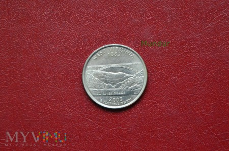 Moneta USA: quarter dollar 2005