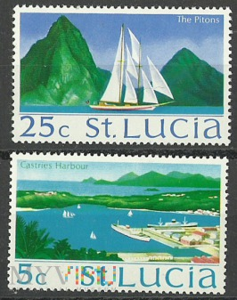 St. Lucia -the Pitons