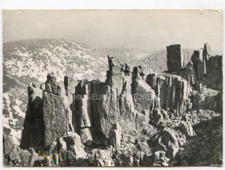Karkonosze Śnieżne Kotły Schneegrubenbaude 1965
