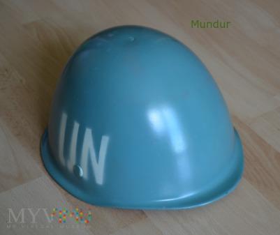 Błękitny hełm patrolowy wz.64 UN
