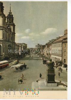 W-wa - Krakowskie Przedmieście - 1957