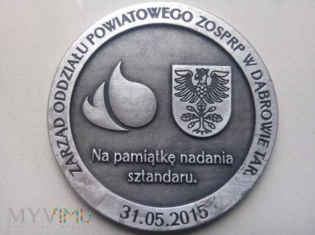 Nadanie Sztandaru ZOP ZOSP RP w Dąbrowie Tarn.