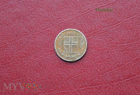 Moneta islandzka: 10 AURAR
