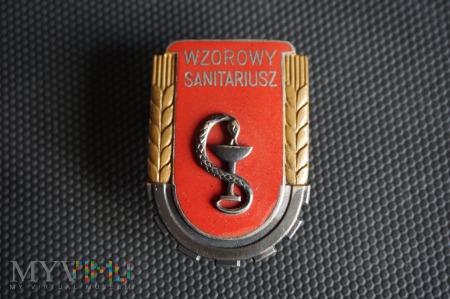 Wzorowy Żołnierz Specjalista - Sanitariusz 1951r.