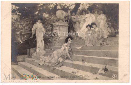 Artigue - Młode Muzy - 1906