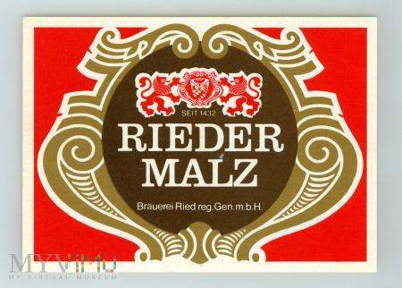 Rieder Malz