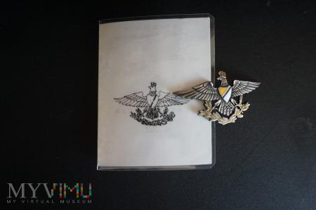 Duże zdjęcie Legitymacja wraz z odznaką 27 Pułku Ułanów