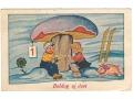 Świnka Noworoczna - 1950