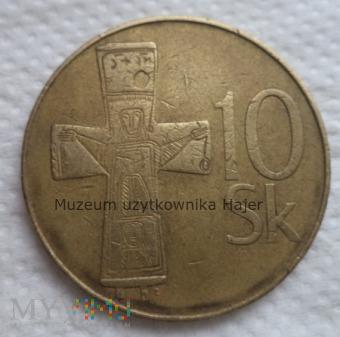 Duże zdjęcie Słowacja - 10 koron - 1993 rok