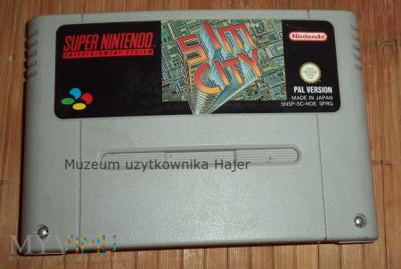 Sim City - gra SNES Nintendo