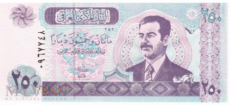 Irak - 250 dinarów (2002)