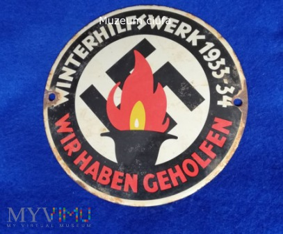 Winterhilfswerk 1933-34