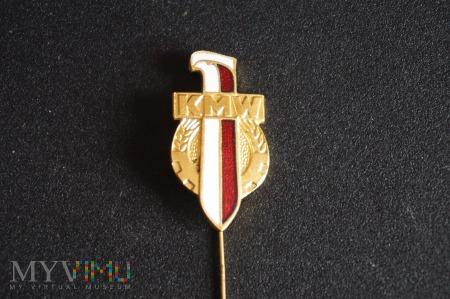 Duże zdjęcie Odznaka Koło Młodzieży Wojskowej - wzór 1958r
